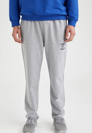 DeFacto Pantaloni sport regular fit de casa Barbati