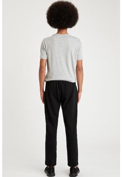 DeFacto Pantaloni de pijama din amestec de bumbac Barbati