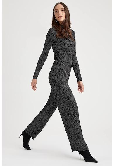 DeFacto Pantaloni tricotati cu insertii stralucitoare Femei