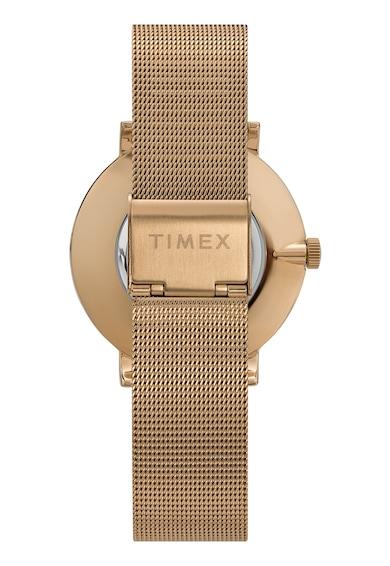 Timex Ceas de otel inoxidabil cu cristale Celestial Opulence, 38 MM Femei
