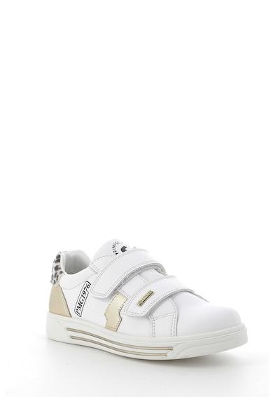 Primigi Pantofi sport de piele si piele cu par scurt, cu velcro Fete