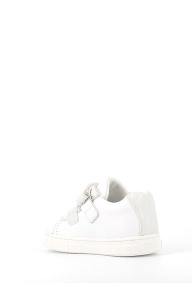 Primigi Pantofi sport de piele cu garnituri de piele ecologica Fete