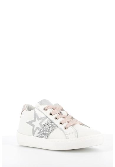 Primigi Pantofi sport de piele cu detaliu stralucitor Fete