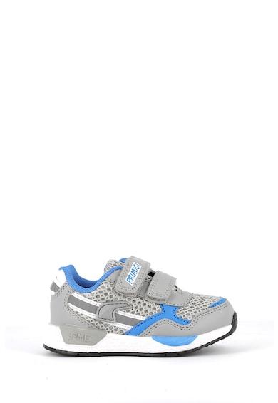 Primigi Pantofi sport de piele ecologica si plasa cu velcro Baieti