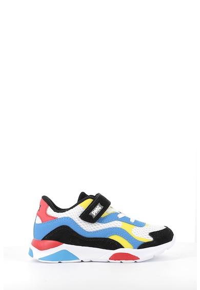 Primigi Pantofi sport de piele intoarsa cu insertii de material textil Baieti