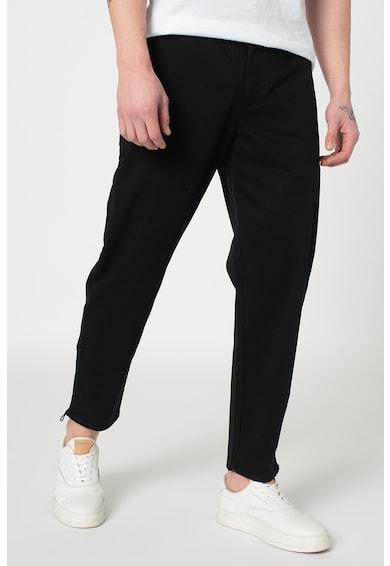 ARMANI EXCHANGE Pantaloni chino drepti cu slituri cu fermoar, pe glezna Barbati