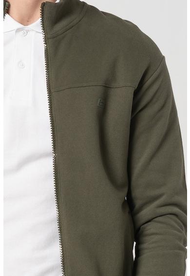 BLEND Bluza sport cu fermoar si guler scurt Barbati