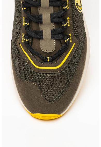 Blauer Pantofi sport cu garnituri din piele intoarsa Byron Barbati
