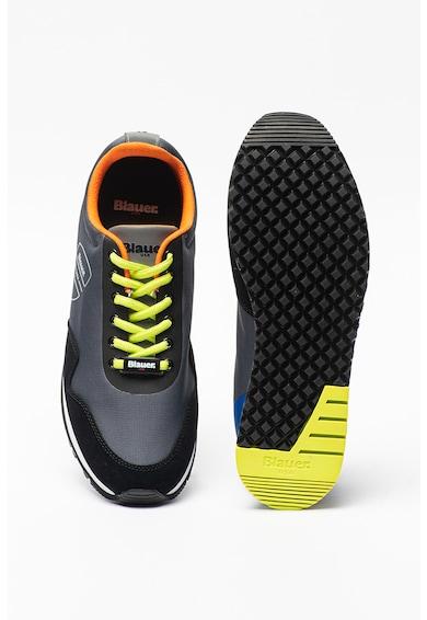 Blauer Pantofi sport cu detalii de piele si piele intoarsa Barbati