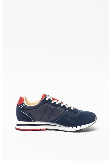 Blauer Pantofi sport cu insertii de piele intoarsa Queen Barbati