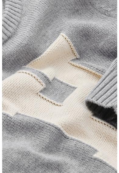 Tommy Hilfiger Pulover din amestec lana cu garnituri striate Baieti