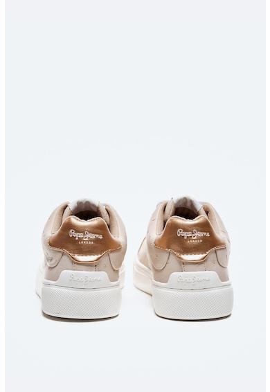 Pepe Jeans London Pantofi sport din piele ecologica cu buline Femei