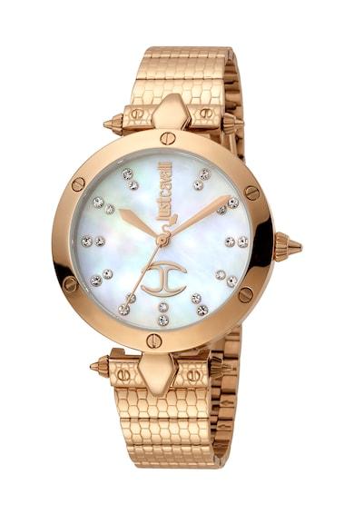 JUST CAVALLI Ceas decorat cu cristale Femei