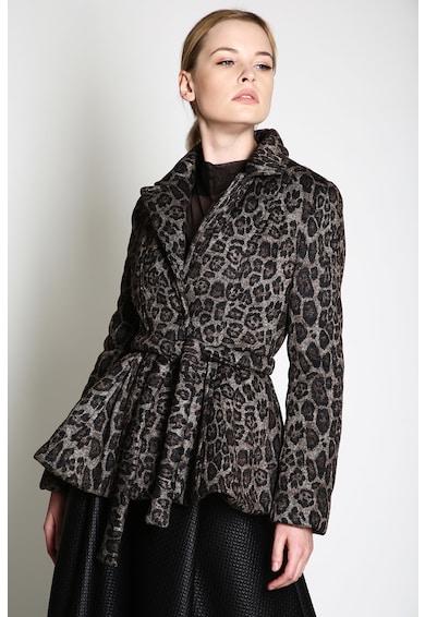 Silvia Serban Palton cu model si cordon Femei