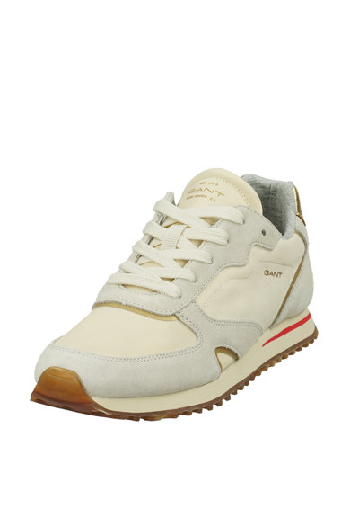 Gant Pantofi sport cu garnituri din piele intoarsa si panza Femei