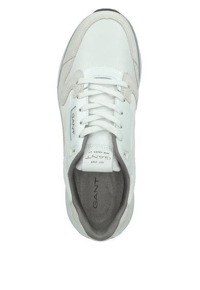 Gant Pantofi sport cu insertii din piele intoarsa Barbati