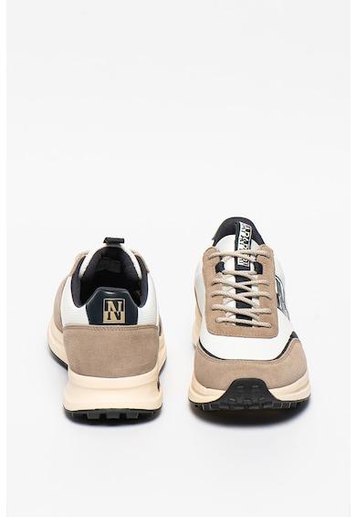 Napapijri Pantofi sport cu garnituri de piele intoarsa Slate Barbati