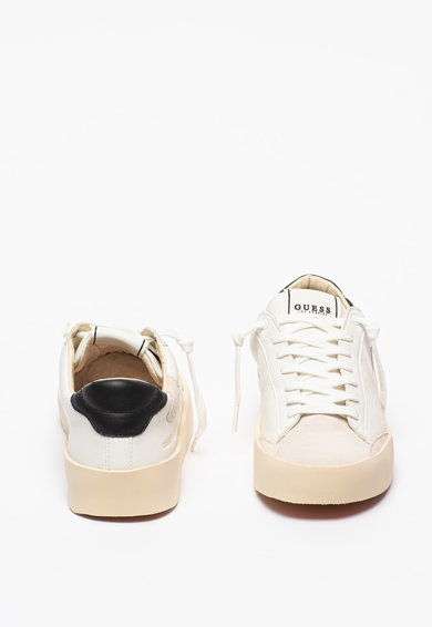 Guess Pantofi sport de piele ecologica Lodi Barbati