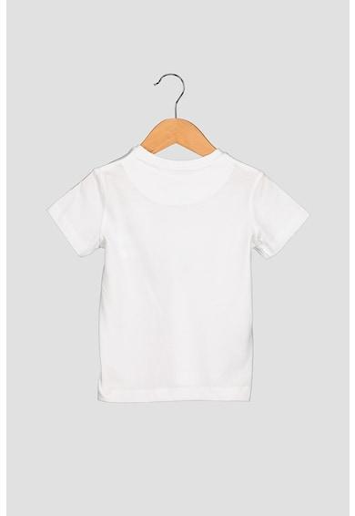Mayoral Set de tricouri cu imprimeu grafic - 2 piese, Alb/Bleumarin Baieti