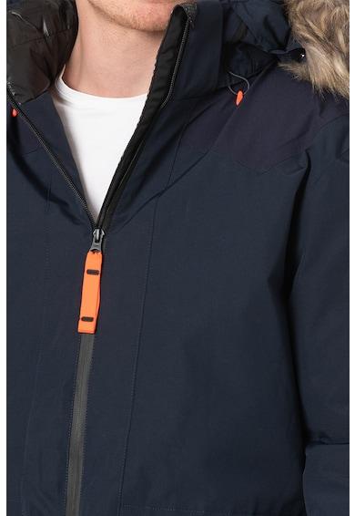 Icepeak Geaca cu garnitura de blana sintetica Becker Barbati
