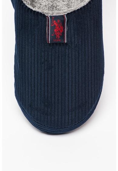 U.S. Polo Assn. Papuci de casa cu aspect striat Otto Barbati
