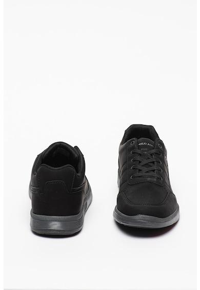 U.S. Polo Assn. Pantofi sport de piele ecologica Lion Barbati
