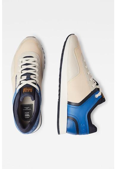 G-Star RAW Pantofi sport cu insertii de piele si model colorblock Barbati