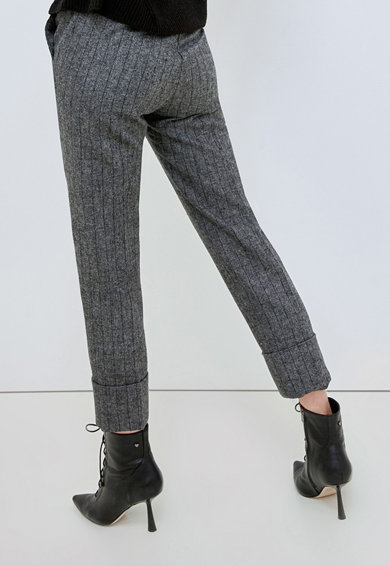 Motivi Pantaloni din amestec de lana cu buzunare Femei