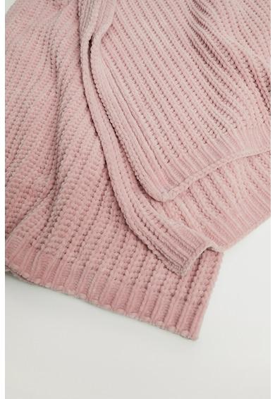 Mango Paturica tricotata Blanca Fete