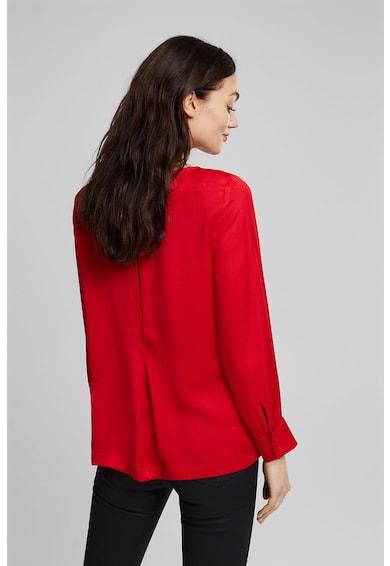Esprit Bluza vaporoasa cu decolteu barcuta Femei
