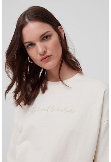 OVS Bluza sport cu mesaj brodat Femei