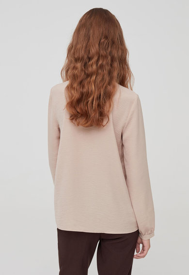 OVS Bluza cu detaliu plisat Femei