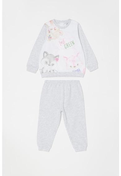 OVS Pijama cu imprimeu grafic Fete