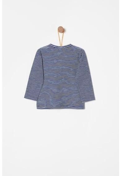 OVS Bluza cu model in dungi si decolteu henley Fete
