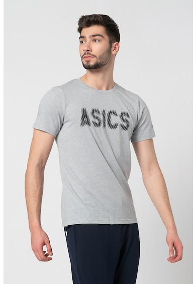 Asics Tricou cu imprimeu logo pentru fitness Barbati