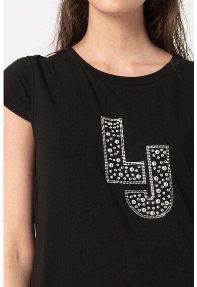 Liu Jo Rochie de plaja din jerseu cu logo cu tinte Femei