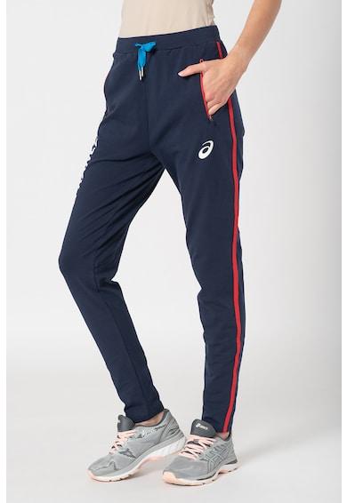 Asics Pantaloni sport cu snur in talie, pentru antrenament Femei