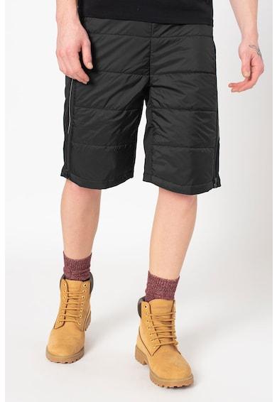 Jack Wolfskin Pantaloni scurti cu vatelina, strat exterior rezistent la apa si aspect matlasat, pentru ski Atmosphere Barbati