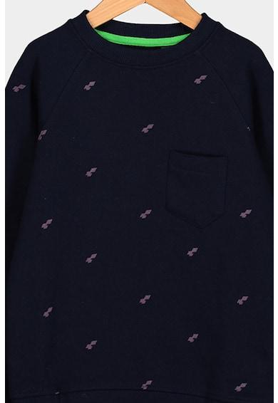 O'Neill Bluza sport cu imprimeu si buzunar pe piept Baieti