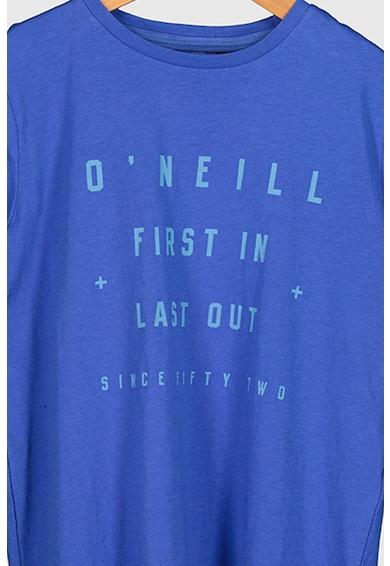 O'Neill Tricou cu decolteu la baza gatului si imprimeu logo 1952 S/Slv Fete