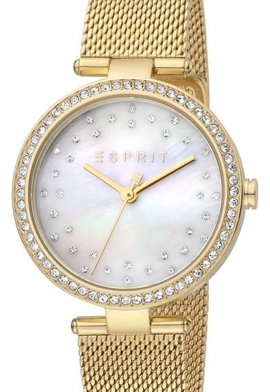 Esprit Ceas decorat cu cristale zirconia Femei