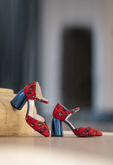CONDUR by alexandru Pantofi de piele cu imprimeu Sissy Femei