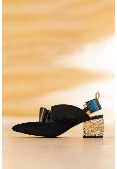 CONDUR by alexandru Pantofi de piele cu toc masiv Divine Femei