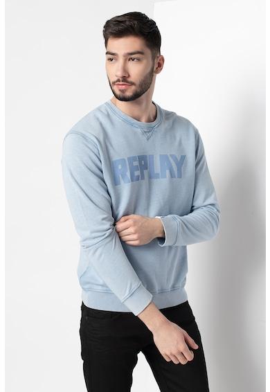 Replay Bluza sport cu imprimeu logo Barbati