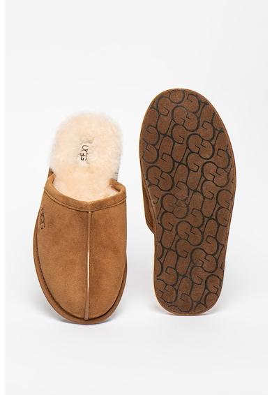 UGG Papuci de casa din piele intoarsa cu logo Scuff Barbati