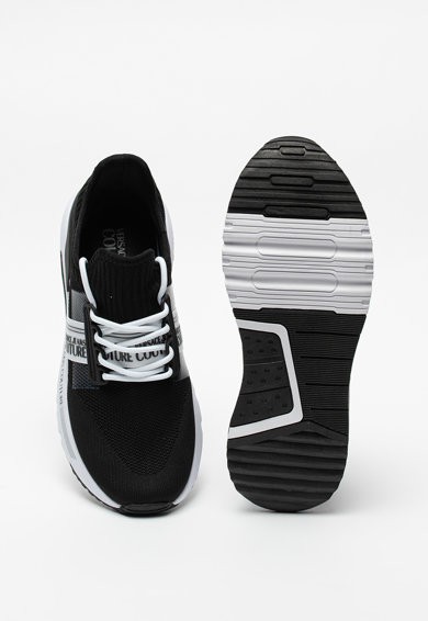 Versace Jeans Couture Pantofi sport din piele ecologica cu insertii din material textil Barbati