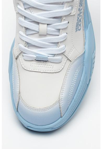 Versace Jeans Couture Pantofi sport din piele cu aspect masiv si insertii din piele ecologica Barbati