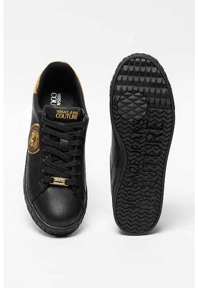 Versace Jeans Couture Кожени спортни обувки със синтетика Мъже