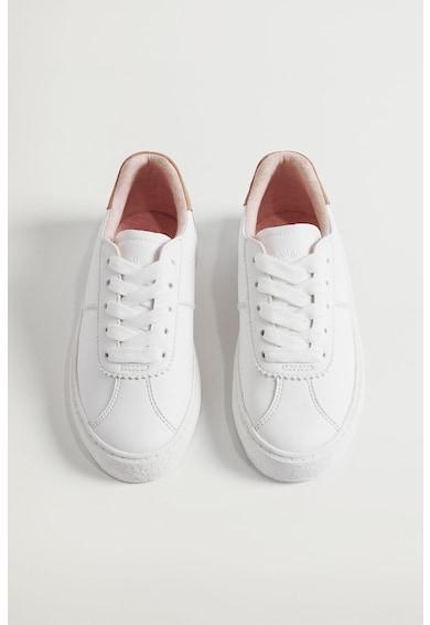 Mango Pantofi sport de piele ecologica Morenci Fete