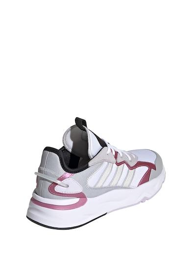 adidas Performance Pantofi cu garnituri de piele intoarsa, pentru alergare Future Flow Femei